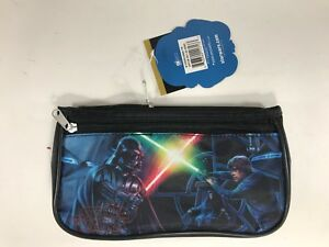 Star-Wars-Darth-Vader-Luke-Skywalker-Nylon-Pencil-Case-Double-Zipper