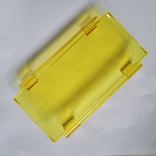 """10x 6inch Yellow Snap on Cover For 12/"""" 24/"""" 30/"""" 36/"""" 42/"""" 50 52/"""" LED Work Light Bar"""