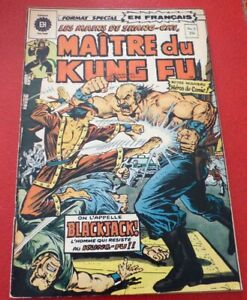 Soft-Cover-French-Heritage-Comic-Maitre-du-Kung-Fu-No-3