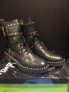 dd37b78972e4 Sam Edelman Women s Jennifer Combat Boot - Black Size 7.5M New In ...