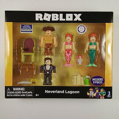 Roblox Virtual Item Code Virtual Item Code Brand New Roblox Neverland Lagoon 4 Figure Pack Film Tv Videospiele