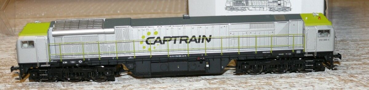 Hs Mehano 58917 diesellok blu Tiger 2 de-ac33c captrain a c Sound