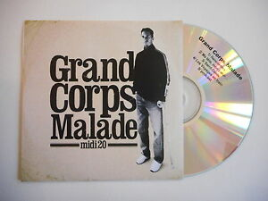GRAND-CORPS-MALADE-MIDI-20-CD-SINGLE-PROMO