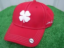 fc2a8269753 Black Clover Live Lucky Red   White Golf Hat Cap Fitted Small   Medium NEW S