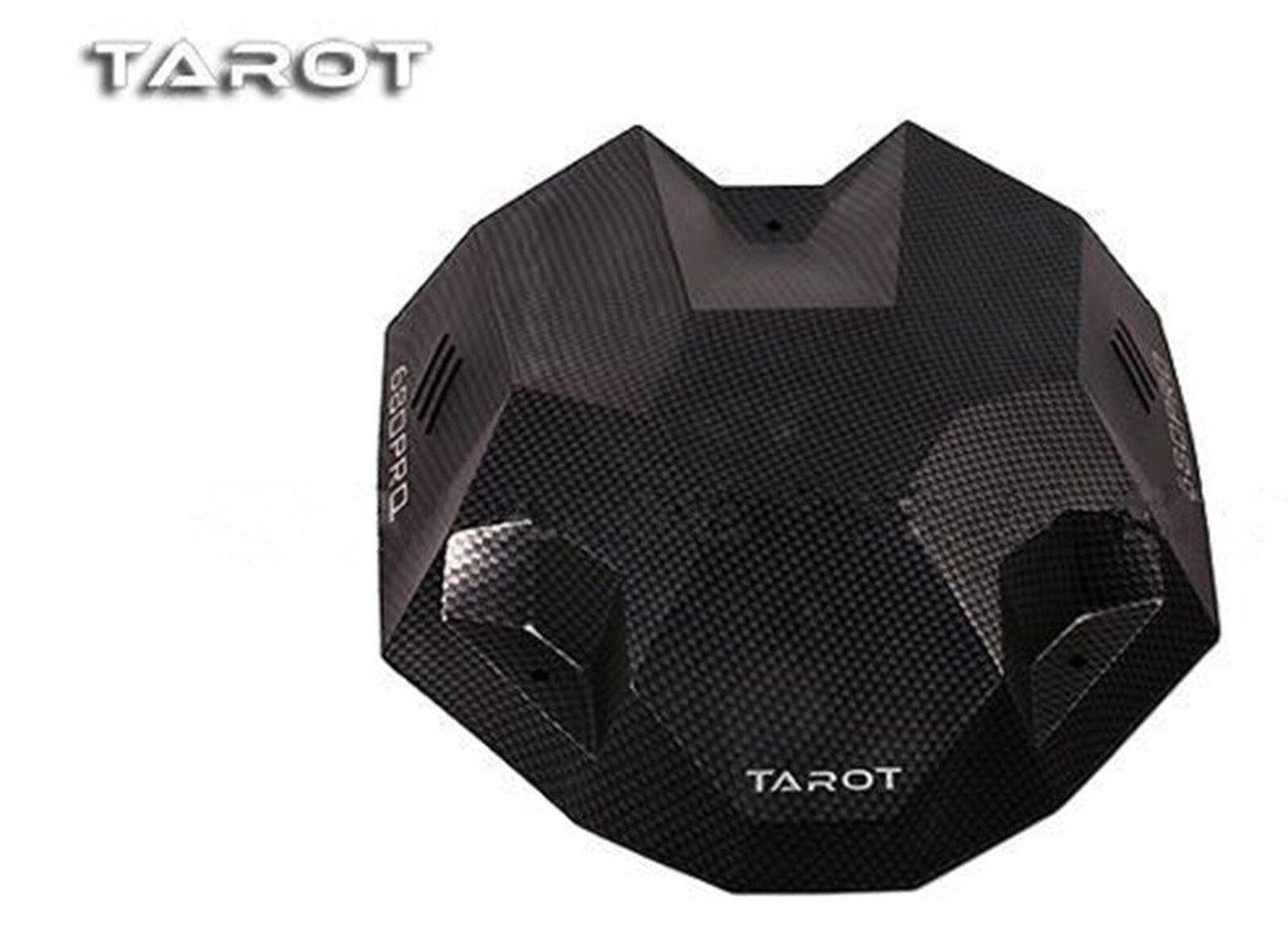 Tared TL2851 680PRO Carbon Fiber Pattern Canopy Hood Head Cover New