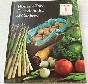 Woman's Day Enclopedia of Cookery Vol. 1 Aba-Avo Vintage Recipe Cookbook