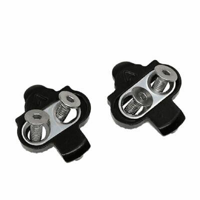 New SPD MTB Pedal Clipless Cleats Wellgo WPD-98A Shimano SH51 SH55 SH56 Black