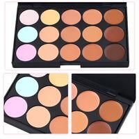 Professional 15 ColorsSalon/Party Contour Face Cream Makeup Concealer Palett New
