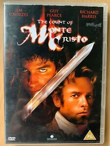 The Count of Monte Cristo DVD 2002 Classic Movie Film w/ Jim Caviezel Guy Pearce
