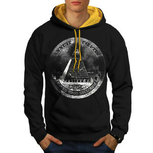 Pullover & Strick Illuminati Pyramid Men Sweatshirt New Wellcoda Sport-kapuzenpullis & -sweatshirts