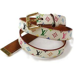 Louis-Vuitton-Belt-Ceinture-Monogram-Multicolor-Gold-80-32-1116661