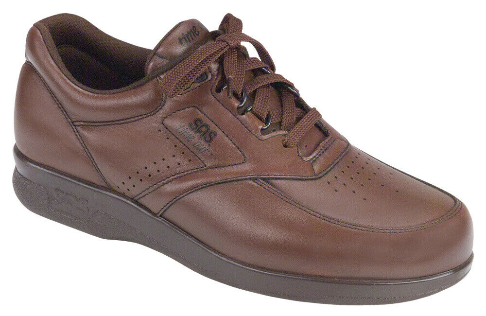 SAS Men's shoes Time Out Antique Walnut 14 Medium FREE SHIPPING New In Box Save