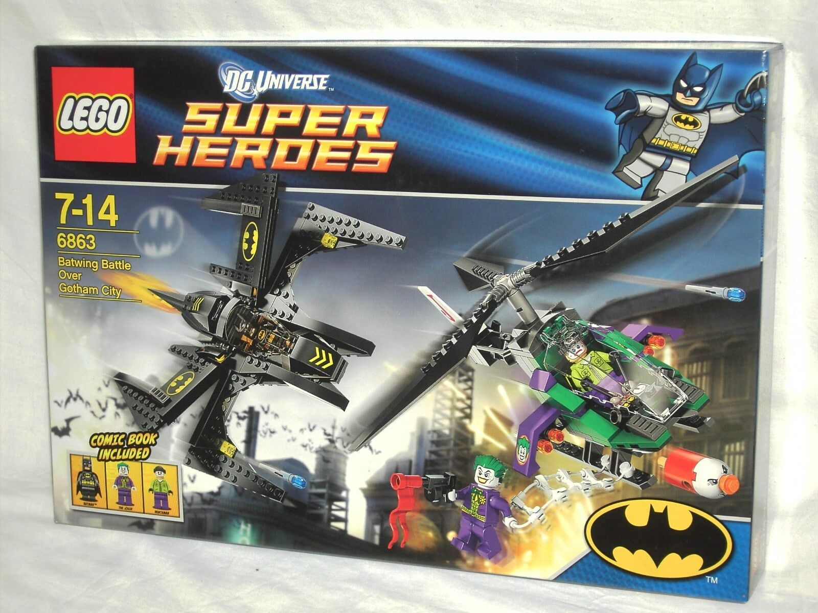 LEGO SUPER HEROES 6863 - BATWING BATTLE OVER GOTHOM CITY   NEW AND SEALED