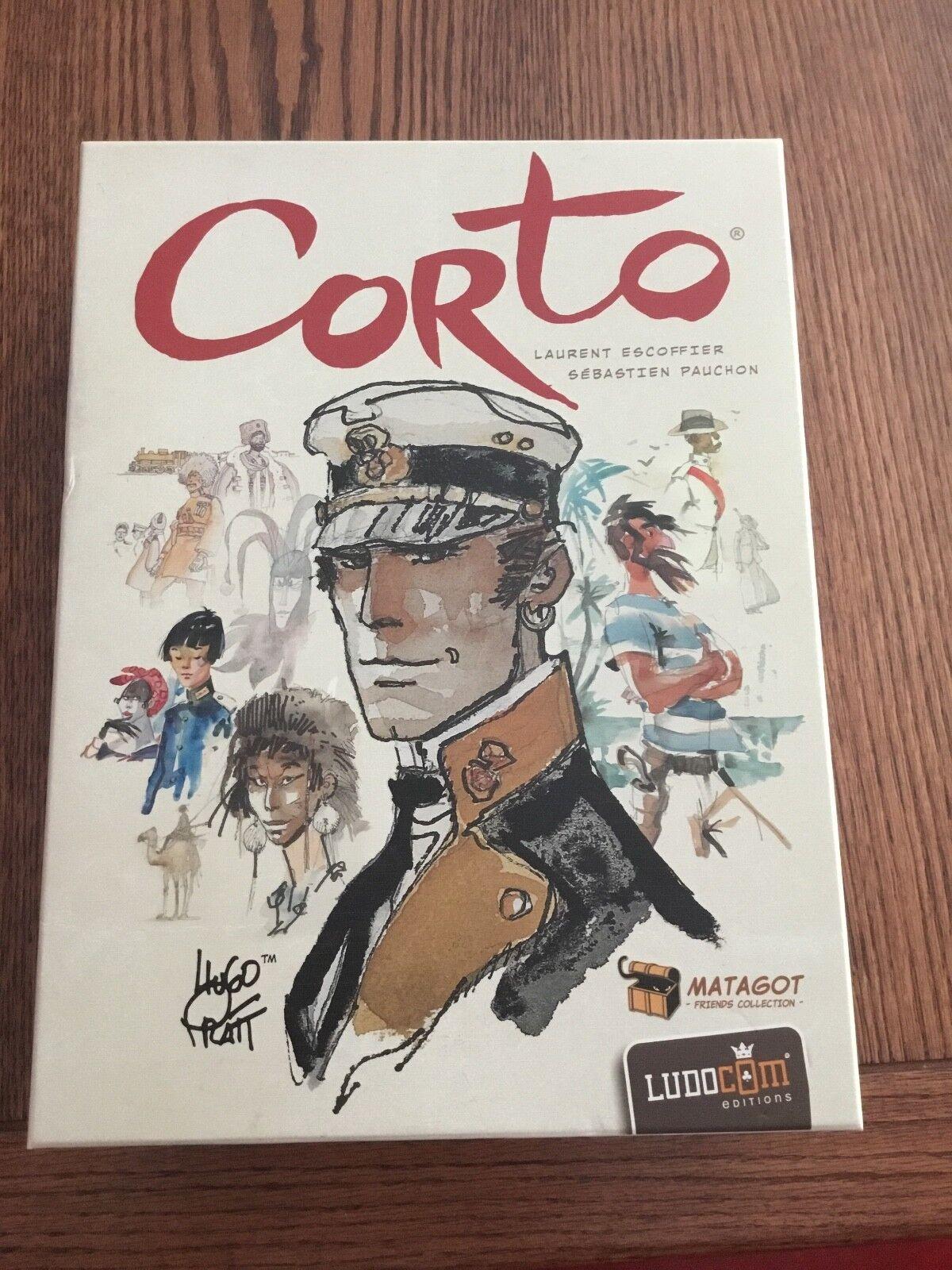 Corto - brettspiel - noch nie gespielt.