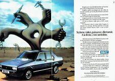 Publicité Advertising 037  1986  la Seat Malaga (2p)