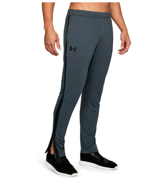 Men's Under Armour Sport style pique Track Pants stealgray / white