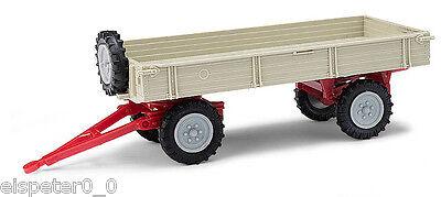 Grau//Graue Felgen Busch Mehlhose 210010206 Anhänger T4 H0 Auto Modell 1:87