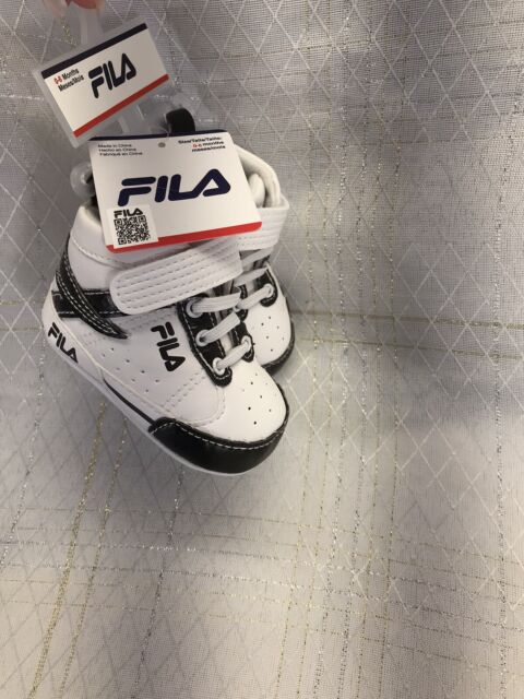 NEW Fila Pre Walker Crib Shoes Infant Baby Sneakers