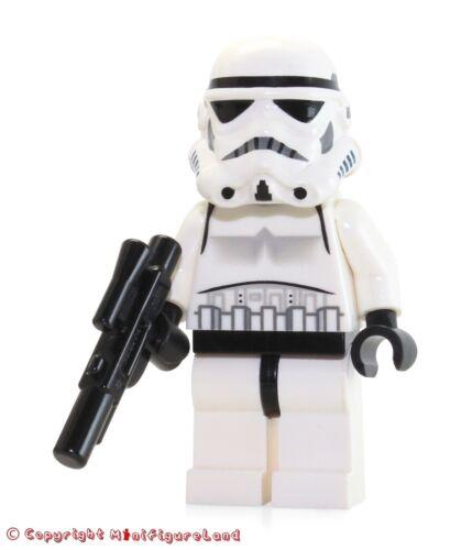 Stormtrooper Black Head w// Dotted Mouth Pattern LEGO Star Wars MiniFigure