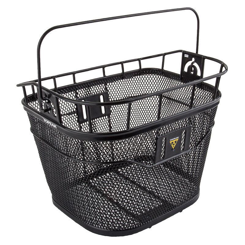 Topeak Handlebar Basket Basket Topeak Hbar W fixer 13x10x10