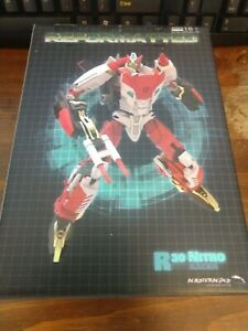 Transformers Mmc Nitro Reformaté Mastermind Creations R-30 Mib Usa