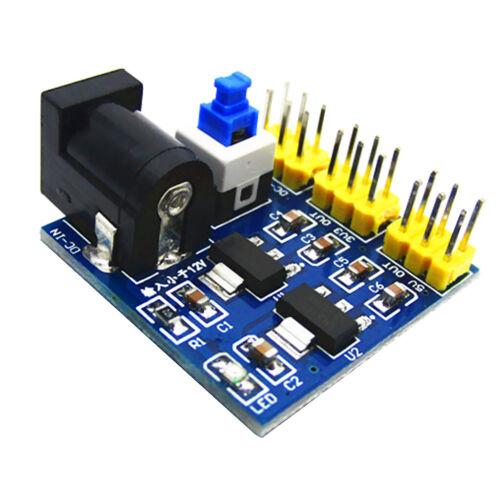 3.3V 5V 12V DC-DC Step Down Power Modul Spannungswandler für Arduino