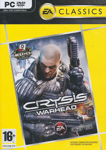 CRYSIS-WARHEAD-Crisis-Ctytek-Stealth-Shooter-PC-Game-US-Seller-NEW-in-BOX