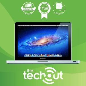 "Apple MacBook Pro 2 Duo A1287 15.4"" 2.53 GHz 4GB 500GB HDD 2010 Silver Grade A"