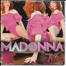 CD CARDSLEEVE CARTONNE MADONNA HUNG UP 2T NEUF SCELLE