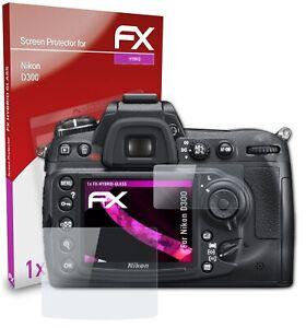 atFoliX Pellicola Vetro per Nikon D300 9H Armatura di protezione
