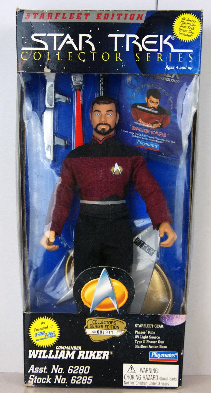 Star Trek - Collector Series - Starfleet Edition - Commander William Riker