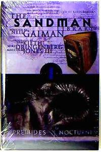 Sandman Neil Gaiman Preludes Nocturnes Hard Cover Book New 1st print Amricons