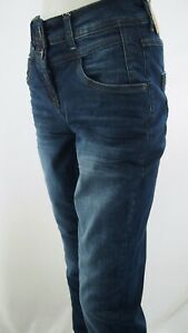 Cecil High Waist Denim Toronto Item-No. B373877 Women's Trousers Jeans New