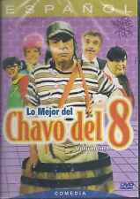 DVD  - Lo Mejor Del Chavo Del 8 ( Volumen1 ) NEW El Chavo FAST SHIPPING !