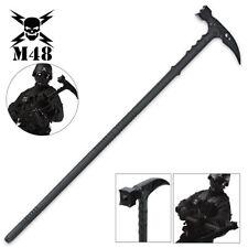 """38"""" M48 Kommando Survival Tactical Combat Battle Axe Blade Hammer Hiking Staff"""
