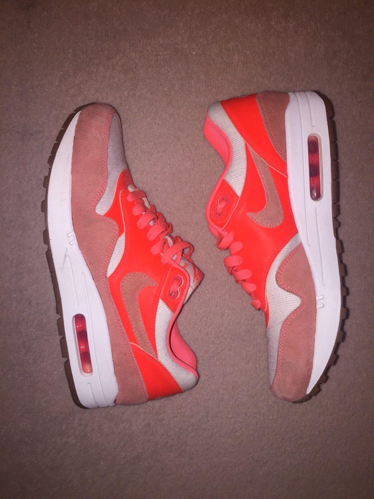 Nike air max donna 1 formatori vintage peach / / peach crimson / beige / gomma 3860ab