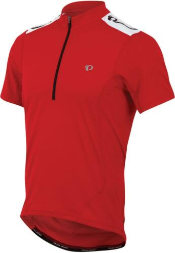Pearl Izumi QUEST Mens Short Sleeve Cycling Jersey 11121407 TRU RED Sz Small