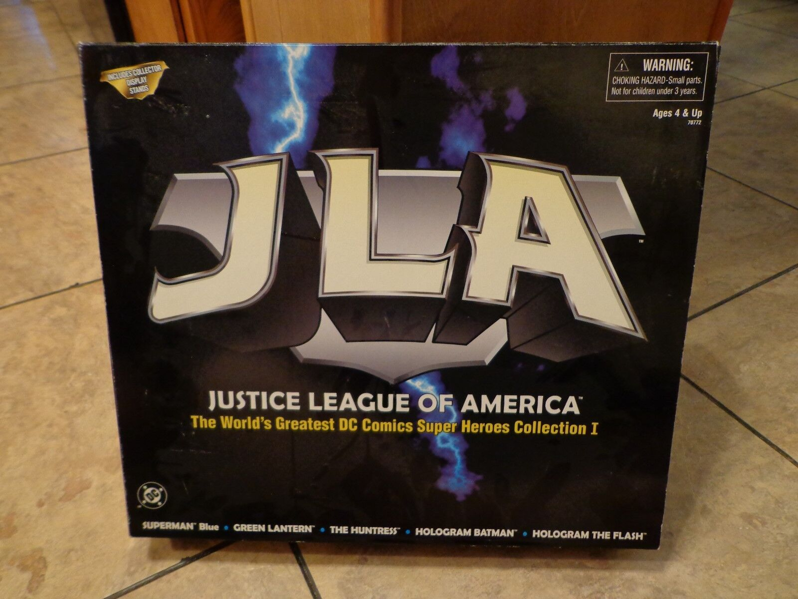1998 HASBRO--JUSTICE LEAGUE OF AMERICA--5 FIGURE SET (NEW) COLLECTION 1