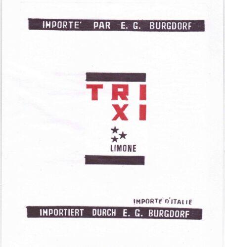 IMPORTE/' PAR E.G LIMONE VELINA INCARTO AGRUMI TRIXI 63 BURGDORF