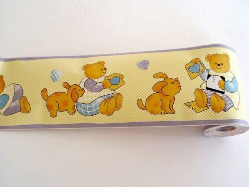 1 Bordüre Bordüre selbstklebend 10,6cmx10m Teddybär F2732083