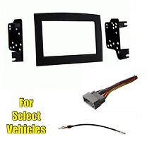 Double Din Car Radio Kit Combo for some 2006 2007 2008 2009 2010 Dodge Ram Truck
