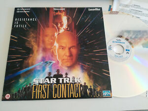 STAR TREK FIRST CONTACT RESISTANCE IS FUTILE - LASERDISC LD LASER DISC ENGLISH
