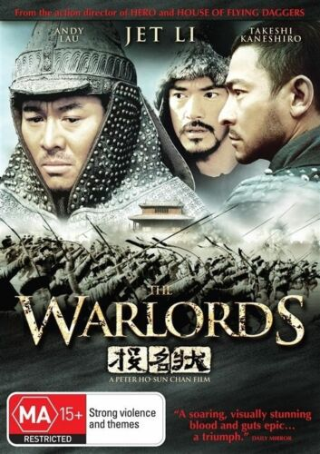 1 of 1 - The Warlords (DVD, 2009)-REGION 4-Brand new-Free postage