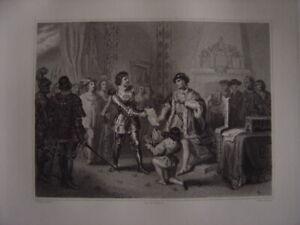 PréVenant Grande Gravure Du Roi Louis Xi à Péronne Peronne Sans Retour