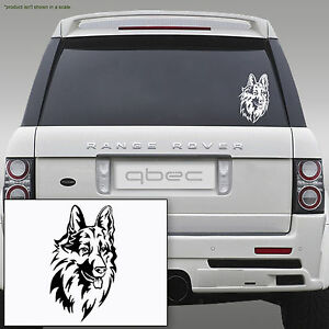 German-Shepherd-Alsatian-Dog-Car-Bamper-Window-Laptop-Vinyl-Sticker-20cm-x-13cm