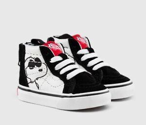 toddler vans x peanuts sk8-hi zip chaussures