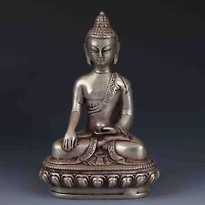 Chinese Tibetan Silver HandWork Buddha statues G456