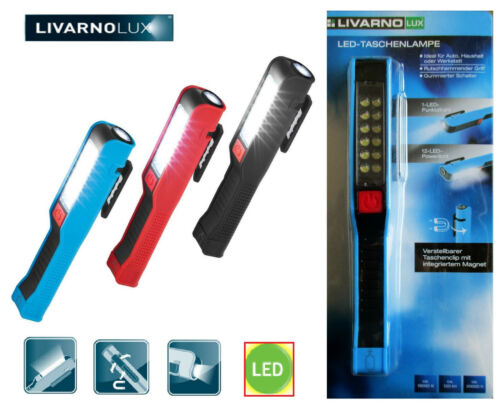 Top Livarno Lux Led Torch Car Work Light 12 Led Powerlicht