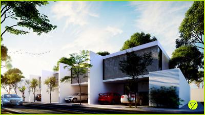 Villas de 3 Recámaras en Privada con Alberca  en San Nicolás Periférico, Mérida