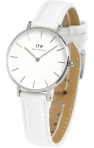 dba79ac10d4a Image is loading DANIEL-WELLINGTON-CLASSIC-PETITE-BONDI-SILVER-32MM-LADY-